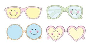 Cute sunglasses Stock Photo