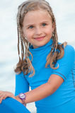 Cute surfer Royalty Free Stock Image