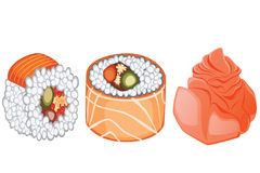Cute Sushi Stock Photography