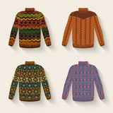 Cute sweater set Royalty Free Stock Photos