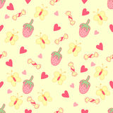 Cute and sweet background. Seamless pattern Royalty Free Stock Image