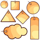 Cute tags Stock Images
