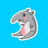 Cute tapir Royalty Free Stock Image