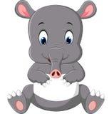 Cute tapir cartoon Stock Photos