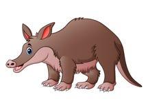 Cute tapir cartoon. Illustration of Cute tapir cartoon Royalty Free Stock Image
