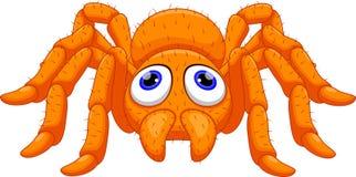 Cute tarantula cartoon Royalty Free Stock Images
