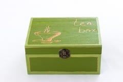 Cute tea box Stock Image
