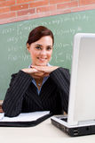 Cute teacher Royalty Free Stock Photo