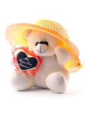 Cute teddy Stock Image