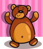 Cute teddy bear cartoon in room Stock Photos