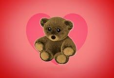 Cute Teddy Bear 3D Render Stock Photography