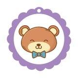 Cute teddy bear cartoon vector illustration
