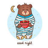 Cute teddy bear 1 Royalty Free Stock Photo