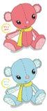 Cute teddy bears Stock Photo