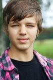 Cute teen. Portrait of a young cute teen outdoors Royalty Free Stock Image