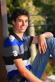 Cute Teen Boy Royalty Free Stock Images
