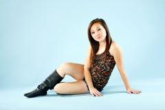 Cute teen fashion Stock Photos