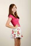 Cute teen fashion Royalty Free Stock Image