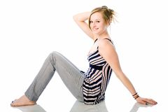 Cute teen fashion Stock Photography