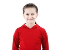 Cute teen girl smiles Stock Image