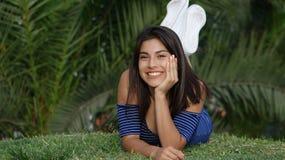 Cute Teen Girl. Stock photo of a teen girl Stock Photo