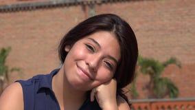 Cute Teen Girl. A young female hispanic teen Stock Image