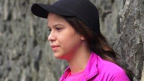 Cute Teen Hispanic Girl stock video