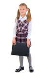 Cute Teen Schoolgirl. Stock Photos