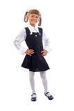 Cute Teen Schoolgirl. Royalty Free Stock Photo