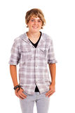 Cute teenage boy Royalty Free Stock Photography