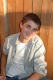 Cute Teenage Boy Stock Image