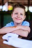 Cute teenage boy portrait Stock Images
