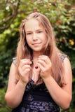 Cute teenage girl Stock Image