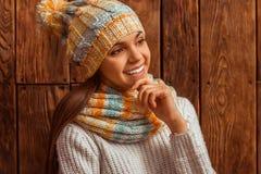 Cute teenage girl Stock Photos