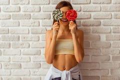 Cute teenage girl Royalty Free Stock Photo