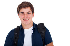 Cute Teenager Boy Stock Photo