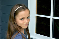 Cute  teenager girl Royalty Free Stock Photography