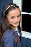 Cute  teenager girl Stock Photography