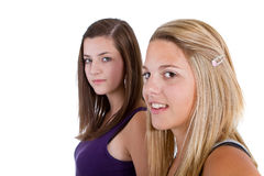 Cute teenagers Royalty Free Stock Photography
