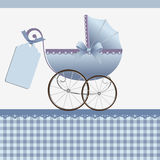Cute template for baby card Royalty Free Stock Images