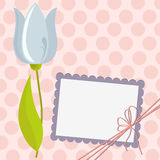 Cute template for Mother's Day postcard Stock Photography
