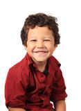 Cute three year old boy Stock Image