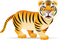 Cute tiger Stock Photo