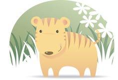 Cute Tiger Stock Photos