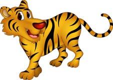 Cute tiger cartoon Stock Image