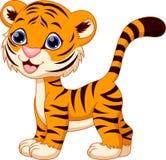 Cute tiger cartoon Royalty Free Stock Photography