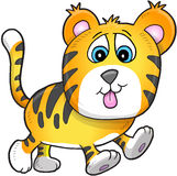 Cute Tiger Cub Stock Images