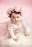Cute toddler as a ballet dancer Royalty Free Stock Photo