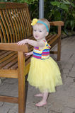 Cute toddler royalty free stock photo