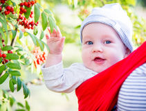 Cute toddler closeup Royalty Free Stock Photography